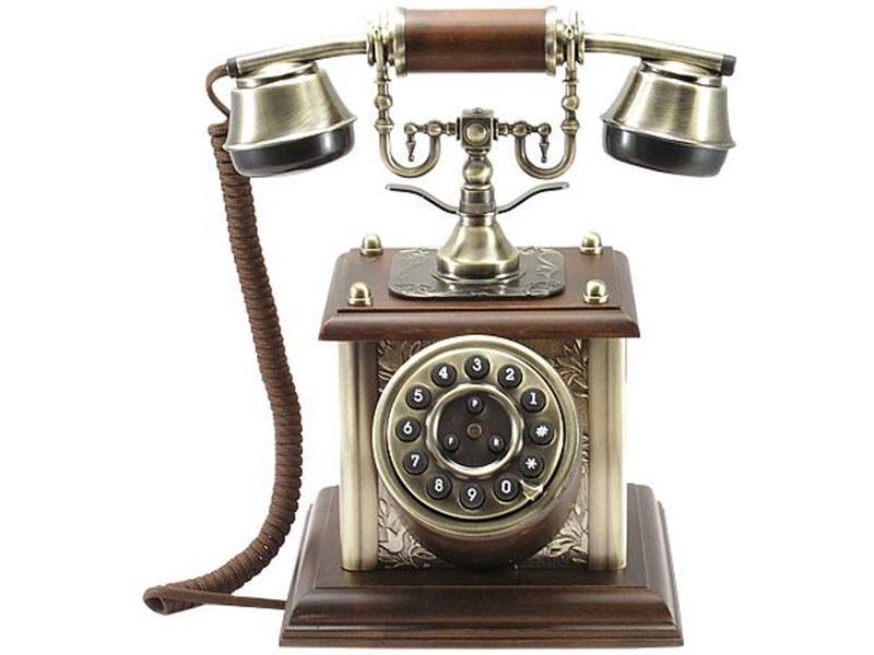 nostalgisches altes telefon mit neuer technik 1900 ebay. Black Bedroom Furniture Sets. Home Design Ideas
